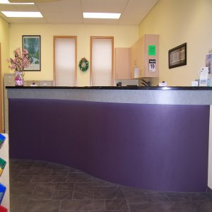 Welcome to our reception area!